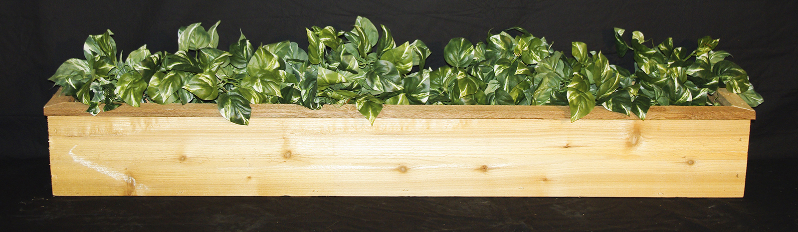 "Trim Top Planters also Available in 60"" and 72"""