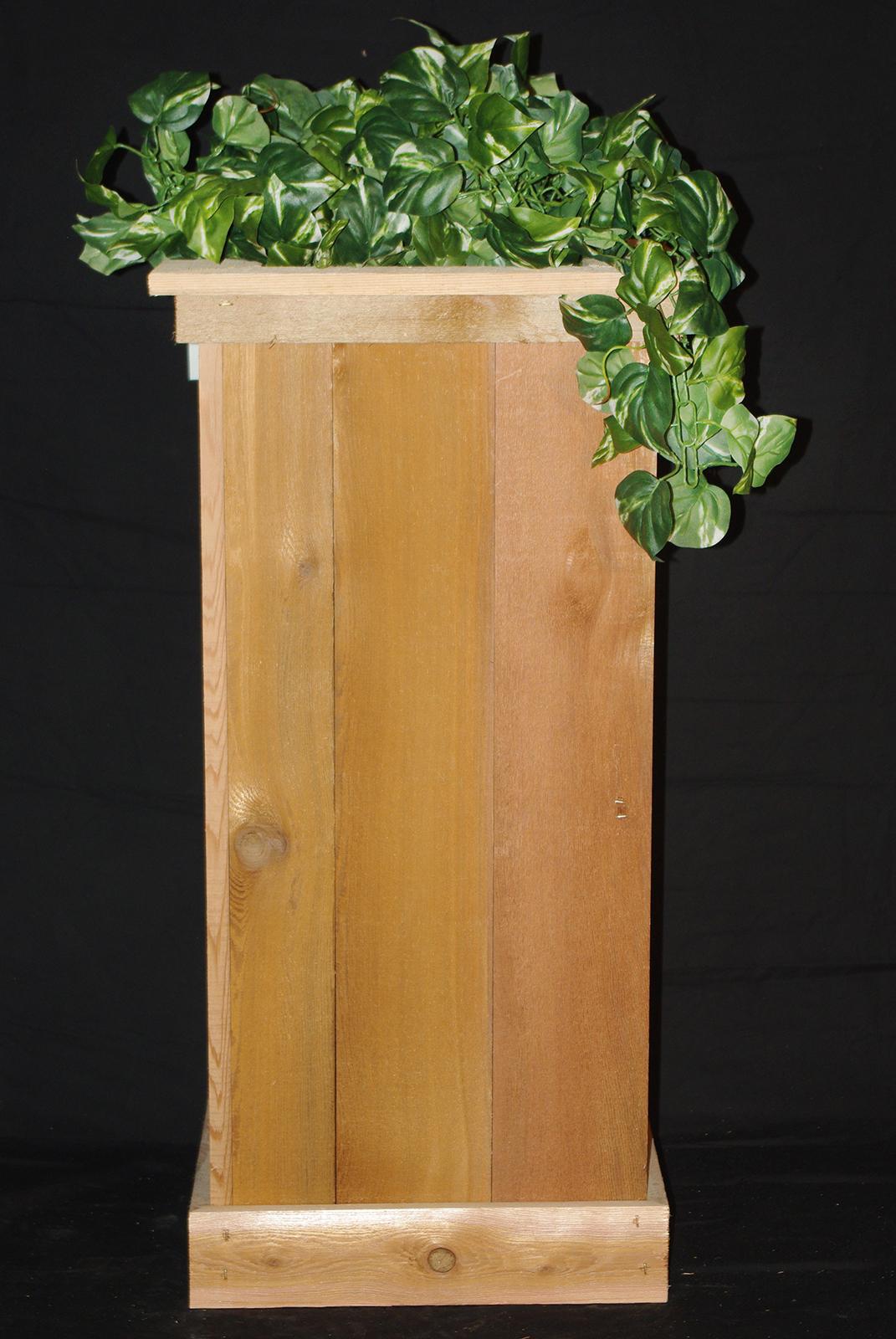 revistarecrearte planter cedar plans com box fresh