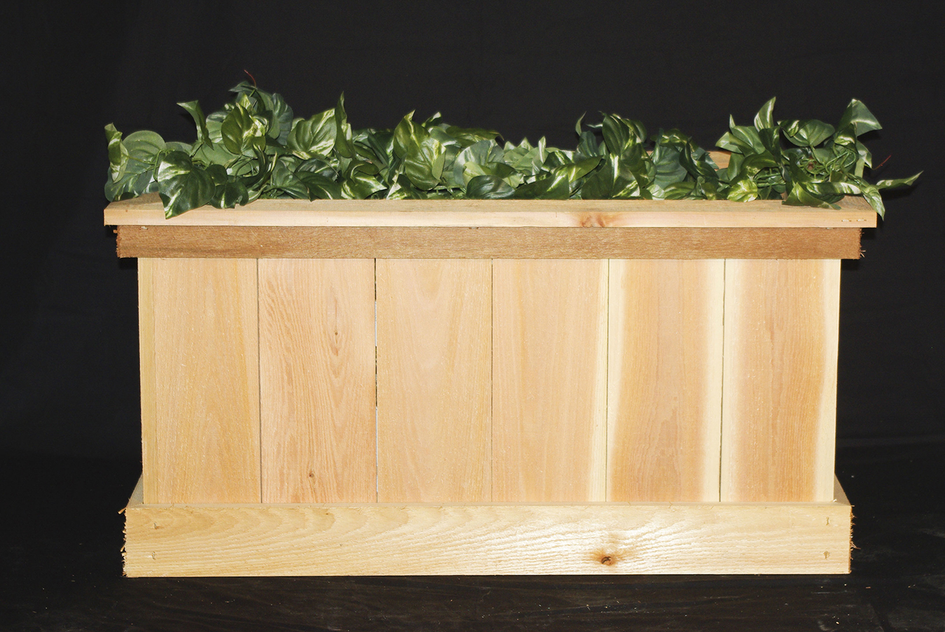 unfinished basic wood cedar dmc the p depot home in box boxes planter window